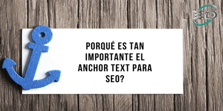 Anchor TExt o texto ancla